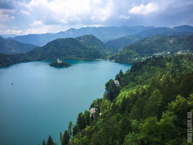 Озеро и остров Блед