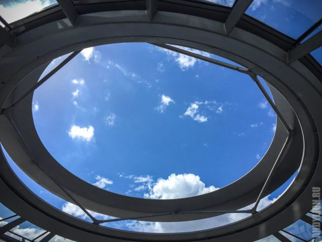 Крыша купола Рейхстага