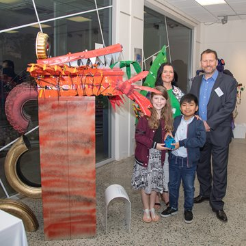 Up-Cycle Art Project Exhibition Award Winners
