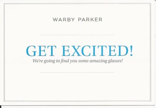 warby parker postcard social media