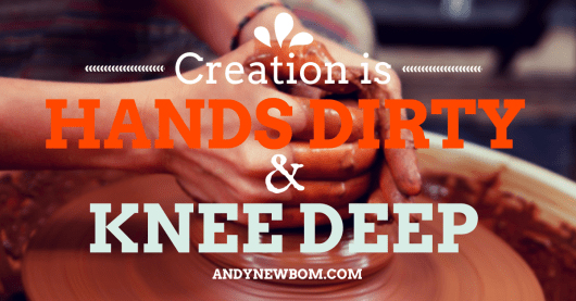 creation is messy