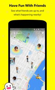 snapchat app map