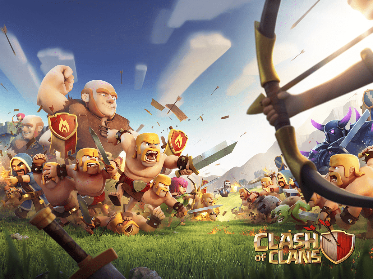 Clash Of Clans For Pc Download Play Clash Of Clans On Pc Andy