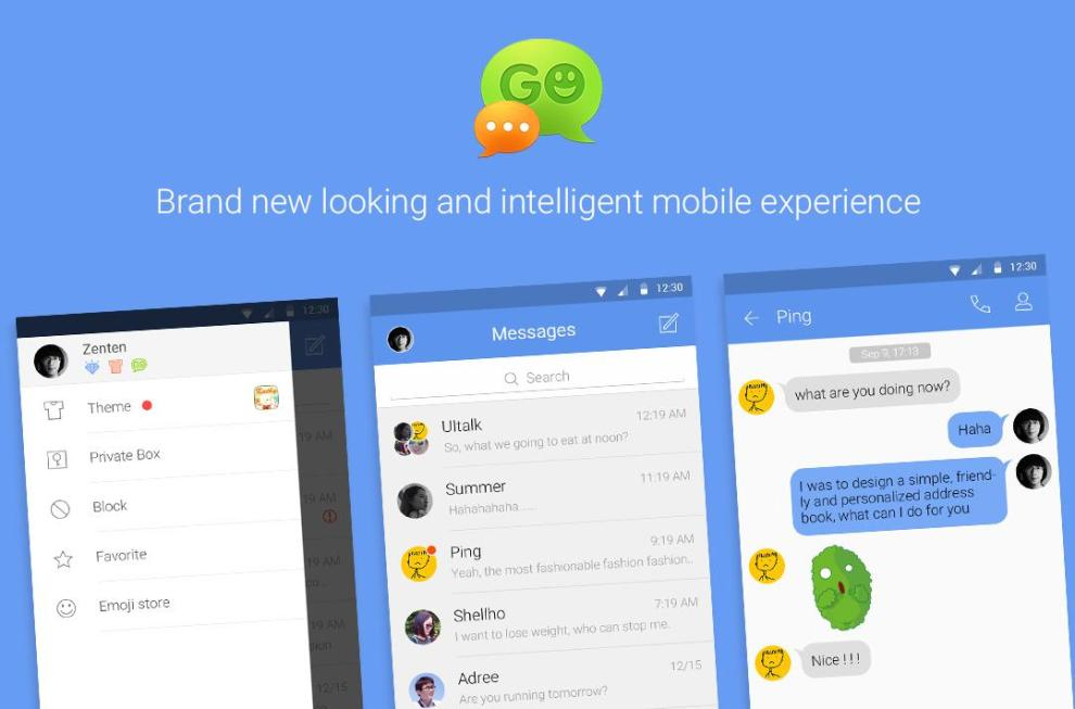 Download Go-SMS-Pro for For PC / Go-SMS-Pro on PC