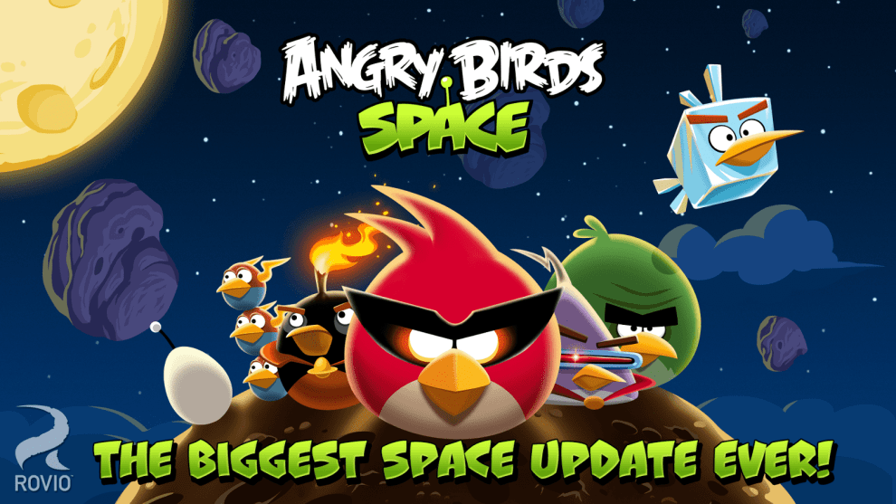 Download Angry Birds Space for PC/ Angry Birds Space on PC