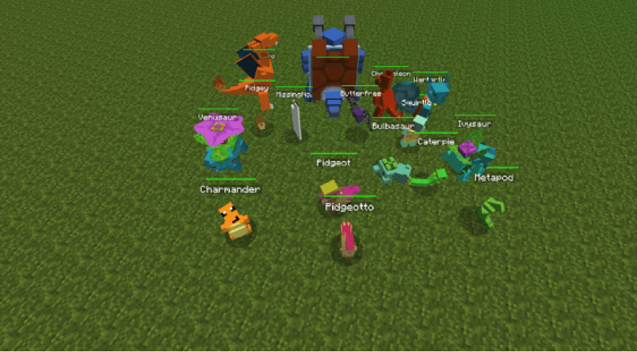 Download Pixelmon for Minecraft for PC/ Pixelmon for Minecraft on PC
