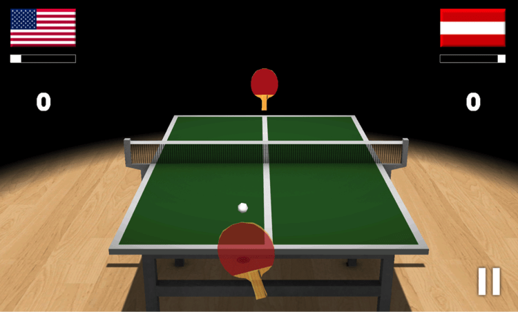 Download Virtual Table Tennis for PC/Virtual Table Tennis on PC