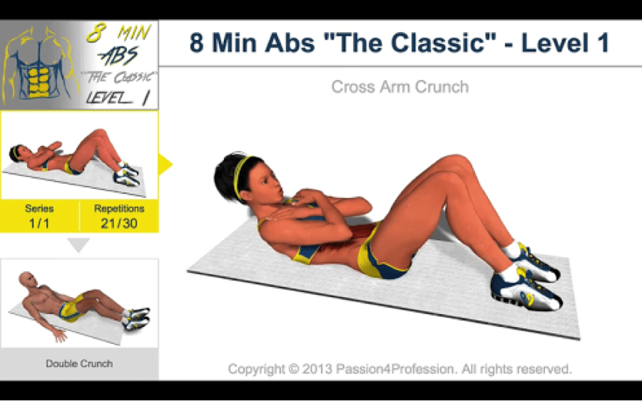 Download 8 Minutes Abs Workout for PC/ 8 Minutes Abs Workout on PC