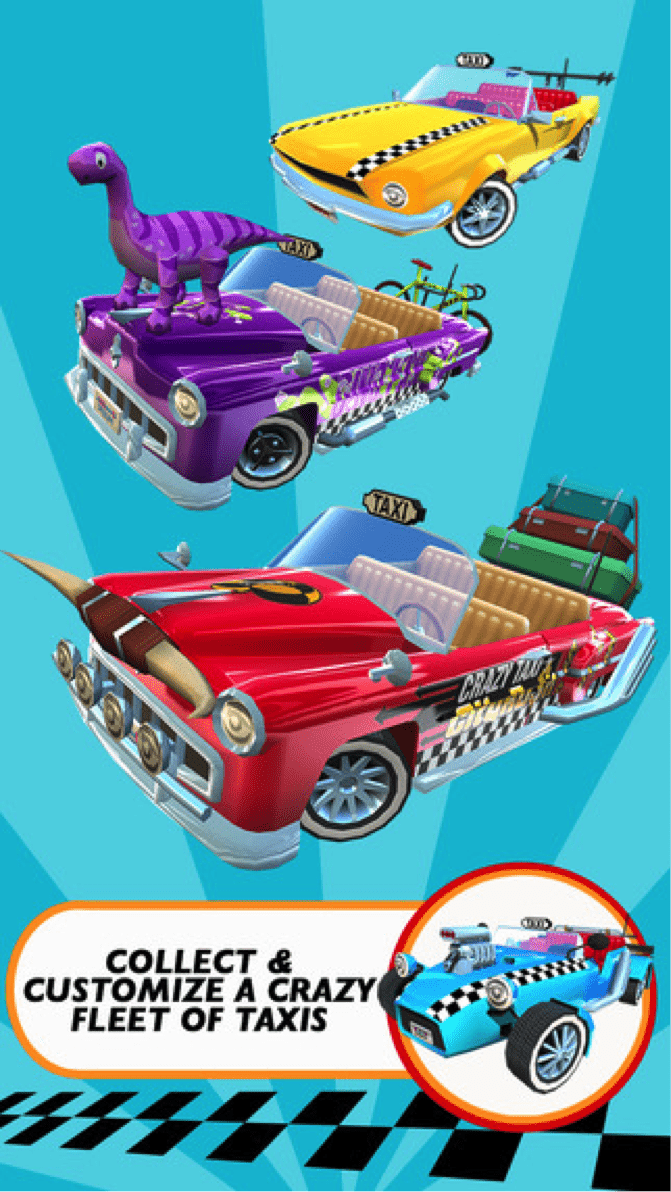 Download Crazy Taxi City Rush for PC/Crazy Taxi City Rush on PC