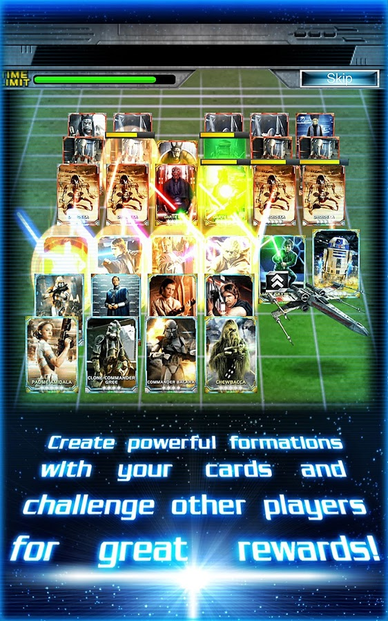 Star Wars Force Collection Android App for PC / Star Wars Force Collection On PC