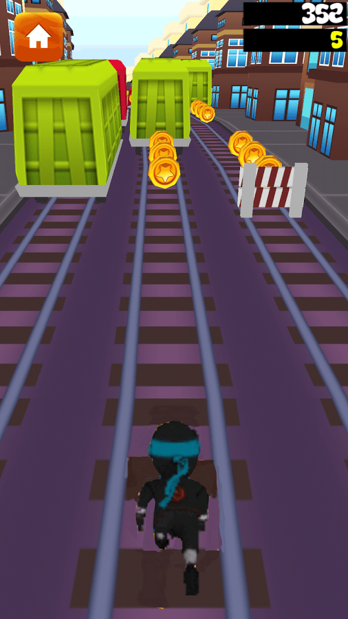 Download Subway Ninja Run Android App for PC/ Subway Ninja Run on PC