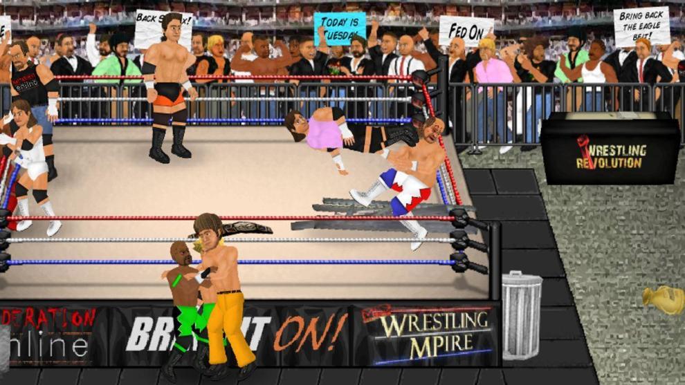 Download Wrestling Revolution for PC/Wrestling Revolution on PC