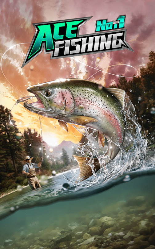Download Ace Fishing Wild Catch Android App for PC/ Ace Fishing Wild Catch on PC