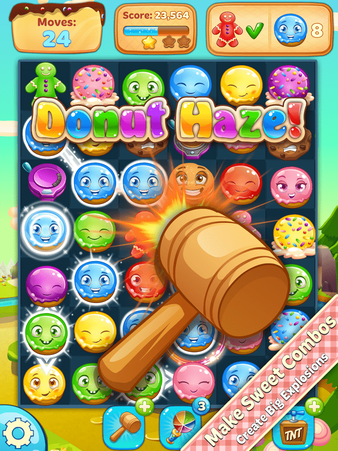 Download Donut Haze Android app for PC/Donut Haze on PC