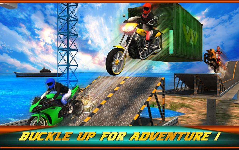 Download Extreme Bike Stunts 3D Android App for PC/Extreme Bike Stunts 3D on PC