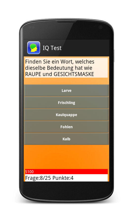 Download IQ Test Deutsch ANDROID APP for PC/ IQ Test Deutsch on PC