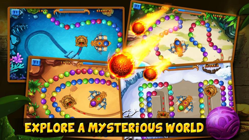 Download Marble Lost Android app for PC/ Marble Lost on PC