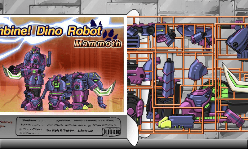 Download Mammoth Dino Robot ANDROID APP for PC/ Mammoth Dino Robot on PC
