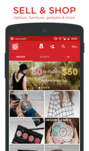 Carousell Snap-Sell, Chat-Buy Android App for PC/Carousell Snap-Sell, Chat-Buy on PC
