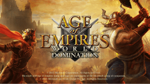 Download Age of Empires World Domination for PC/Age of Empires World Domination on PC