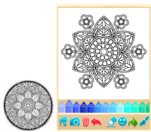andala Coloring Pages for PC