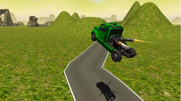Download Flying Helicopter Truck Flight for PC - Flying Helicopter Truck Flight On PC