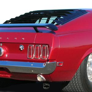 The mustang fastback is a rear wheel drive coupé passenger car with a front mounted engine, sold by ford. Ford Mustang Astra Hammond Window Louvers At Andy S Auto Sport