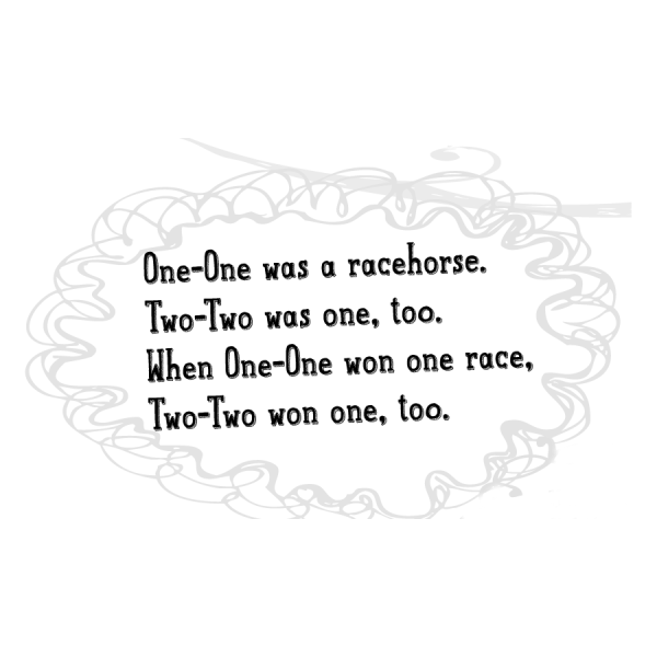 one-one was a racehorse