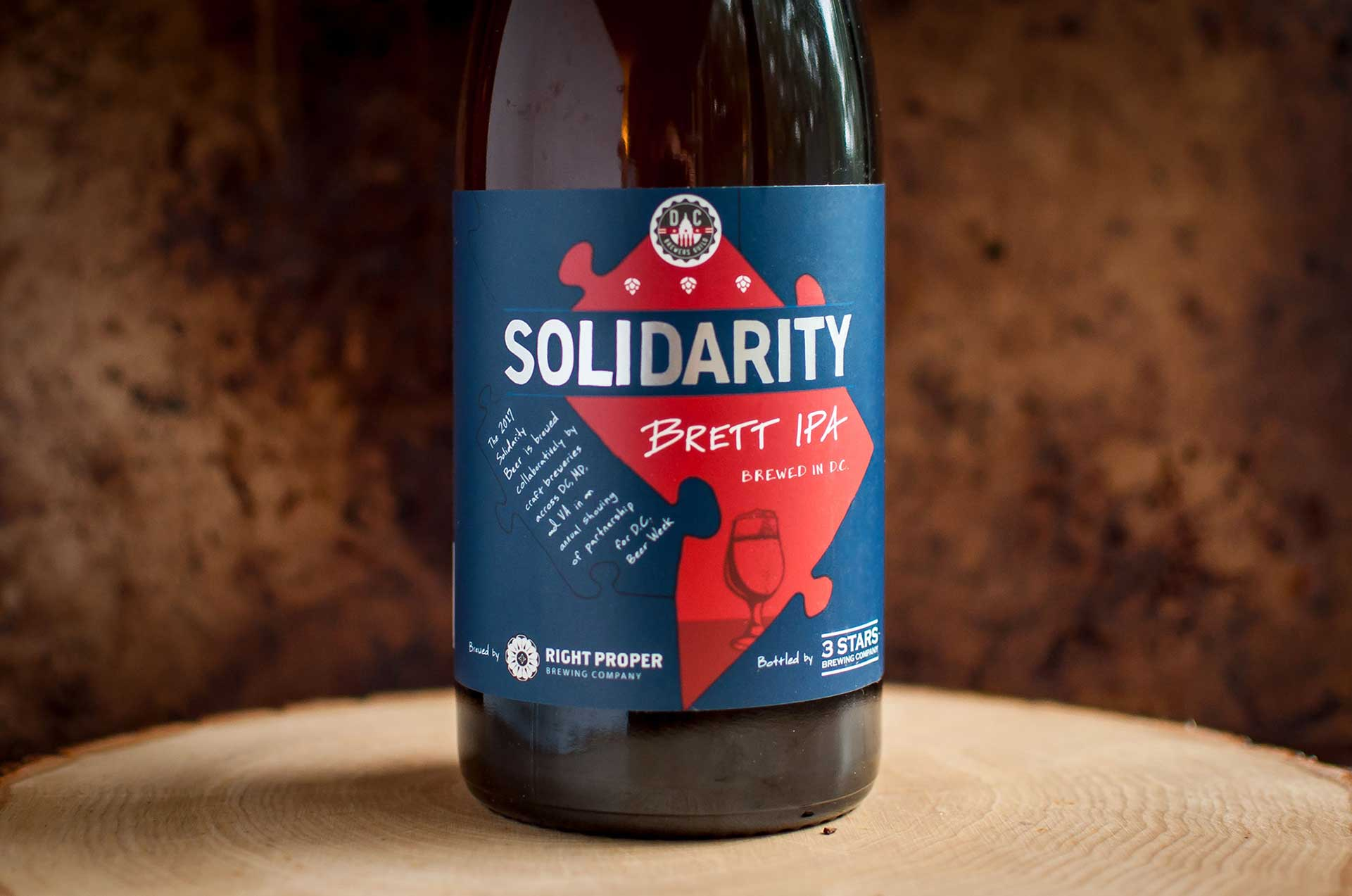 2017 Solidarity Beer Label