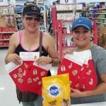 Pedigree Event, stockings christmas, Tampa Event, Walmart, Temptations, Brand Ambassadors
