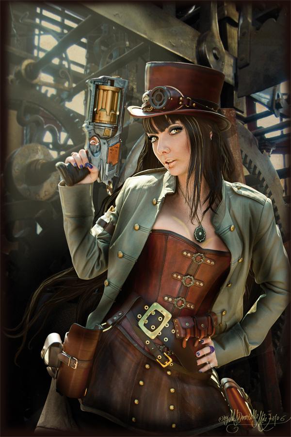 ragazza steampunk