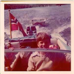 Andy Sway Boating in Norway