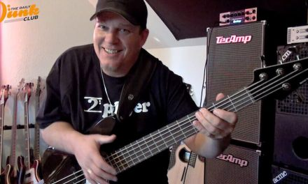 VIDEO #2 MTD KINGSTON CRB-5 DEMO & LEFT HAND NUANCE LESSON
