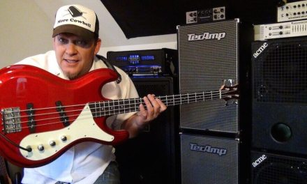 VIDEO #7 ARIA BASS/BARTOLINI PICKUPS MOD & STIC-KA-TI-BAW – GHOST NOTING LESSON