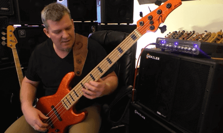 Nordy Mute Demo – bass guitar string mute – Andy Irvine
