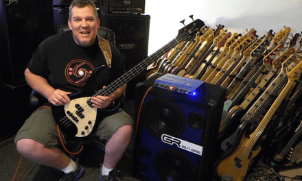 Bosquez Tierra 4 & GRBass ONE800 & 2×12 rig – Andy Irvine