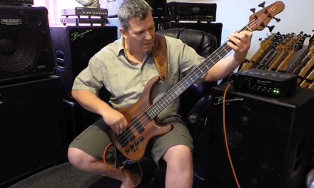 Grannis NGF4 – hand crafted bass guitar – Andy Irvine