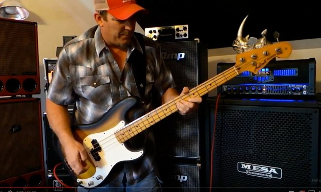 Nordstrand Audio – Powerblade – P Bass Pickup Demo – Andy Irvine