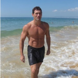 Andy Wilkinson Fitness on holiday