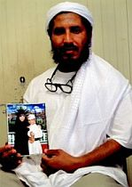 Ahmed al-Darbi in Guantanamo, August 2009