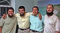 The four Uighurs released in Bermuda, June 2009
