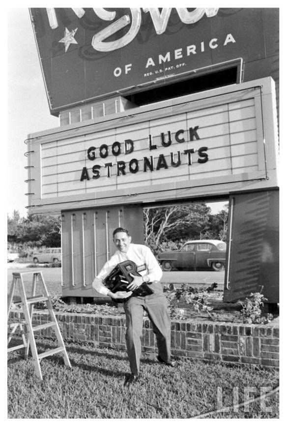 Henri Landwirth quelques jours avant le vol de Shepard