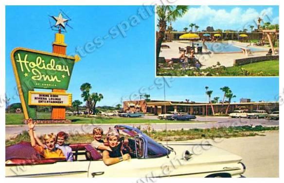 Le Holiday Inn au début des années 60