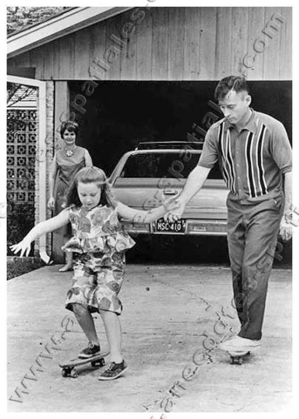 John Young avec sa fille Sandy