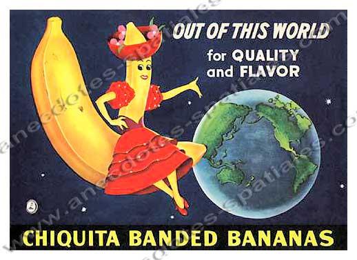 Poster Chiquita