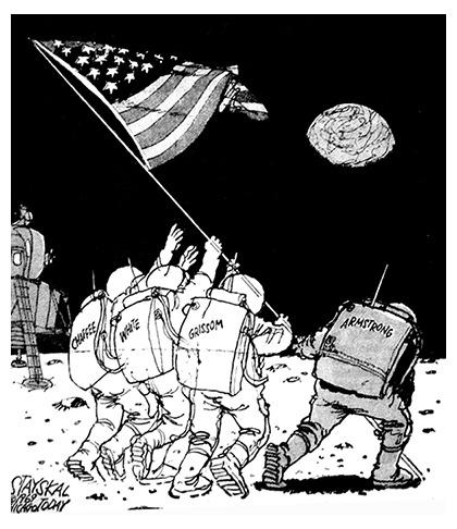 Apollo 1 et Neil Armstrong