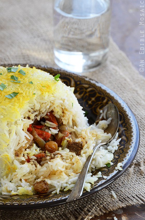 Beef Biryani Stuffed Inside Basmati Rice 3
