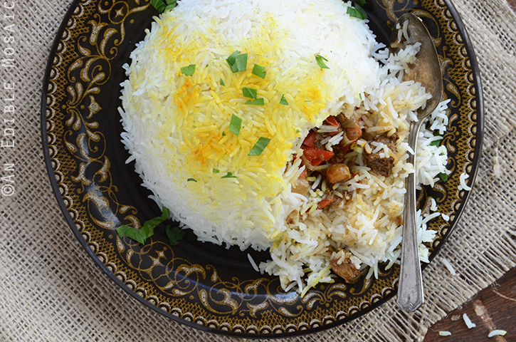 Beef Biryani Stuffed Inside Basmati Rice 4