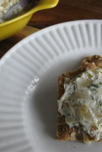 Baked Mushroom & Onion Dip