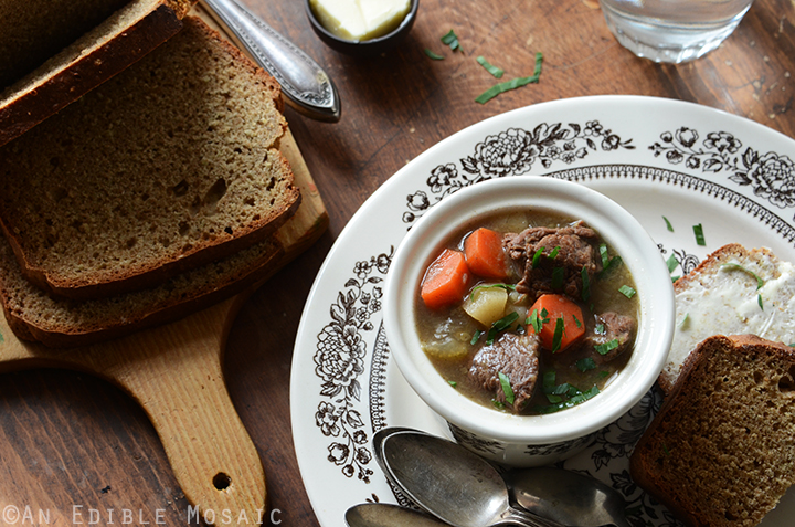 Guinness Beef Stew and Irish Brown Soda Bread 5